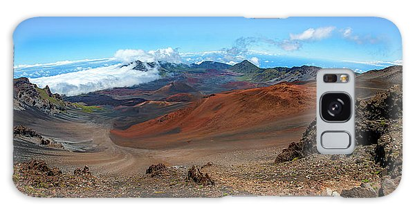 Haleakala Crater Panoramic Galaxy Case