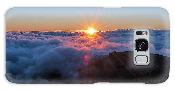 Haleakala First Light  Galaxy Case