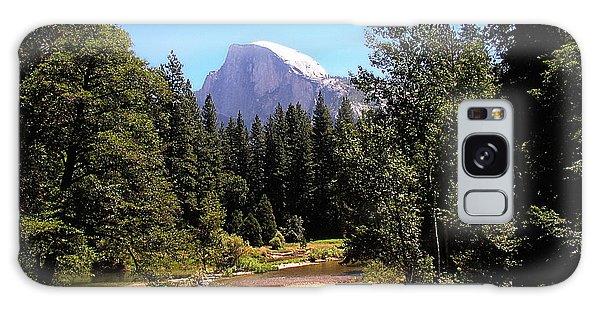 Half Dome From Ahwanee Bridge - Yosemite Galaxy Case