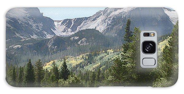 Hallett Peak Colorado Galaxy Case