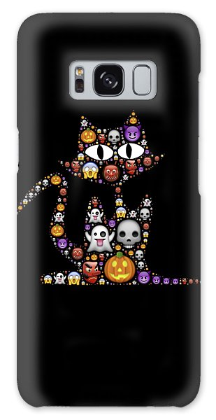 Halloween Cat Galaxy Case