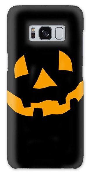 Halloween Pumpkin Tee Shirt Galaxy Case