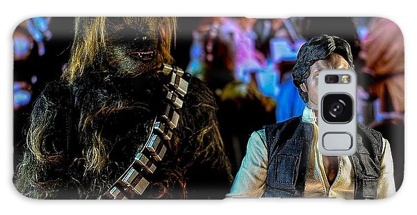 Mos Eisley Galaxy Case - Han And Chewie by Jeremy Guerin