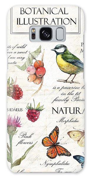 Branch Galaxy Case - Hand Drawn Botanical Illustration In by Yana Fefelova