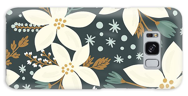 Wrap Galaxy Case - Hand Drawn Floral Seamless Vector by Artnis