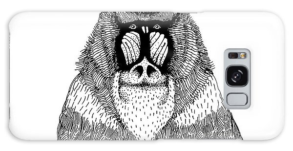 Indian Head Galaxy Case - Hand Drawn Vector Illustration With An by Dariaroozen