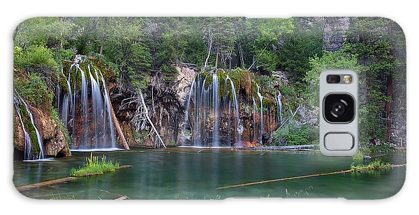 Galaxy Case featuring the photograph Hanging Lake Colorado by Nathan Bush