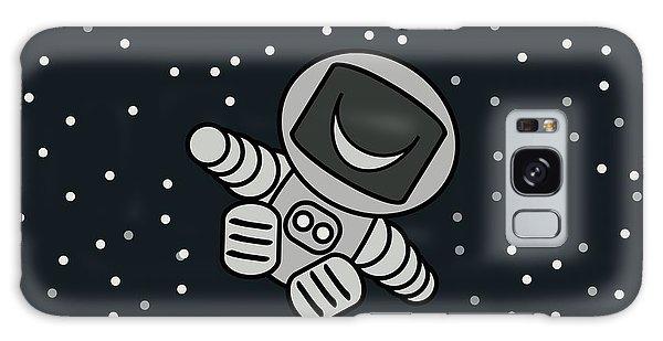 Happy Astronaut Galaxy Case