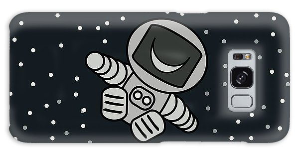 Happy Astronaut Galaxy Case