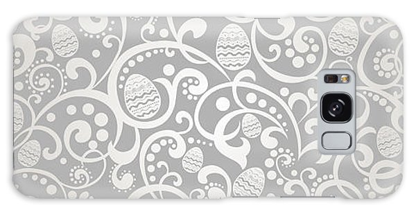 Eggs Galaxy Case - Happy Easter Vintage Background With by Semiletava Hanna