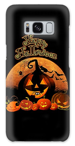 Happy Halloween Galaxy Case