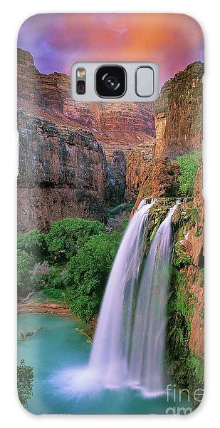 Colour Galaxy Case - Havasu Falls by Inge Johnsson
