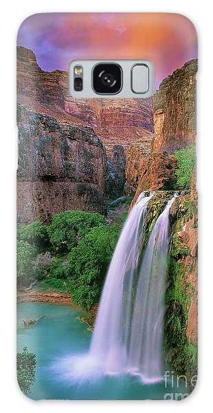 Southwest Usa Galaxy Case - Havasu Falls by Inge Johnsson
