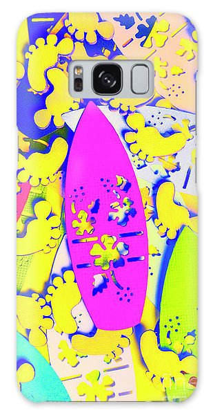Neon Galaxy Case - Hawaiian Design by Jorgo Photography - Wall Art Gallery