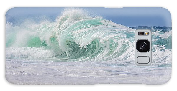 Hawaiian Shorebreak Galaxy Case