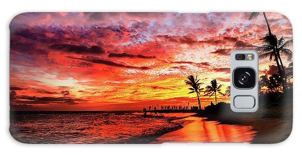 Hawaiian Sunset Galaxy Case