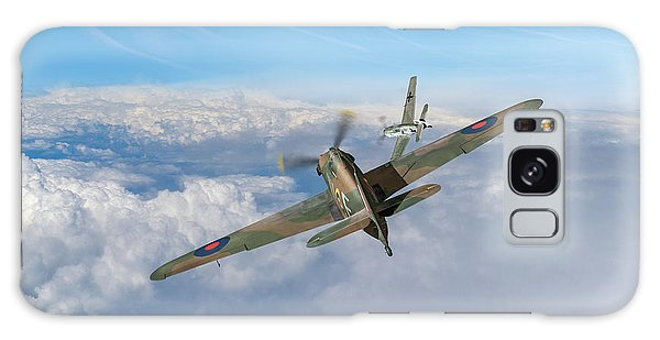 Galaxy Case featuring the photograph Hawker Hurricane Deflection Shot by Gary Eason