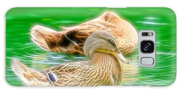 Headless Honey Duck Fibers Galaxy Case