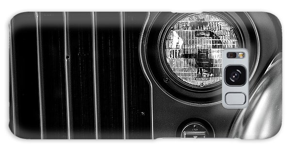 Galaxy Case featuring the photograph Headlight, Jeep by Edward Lee