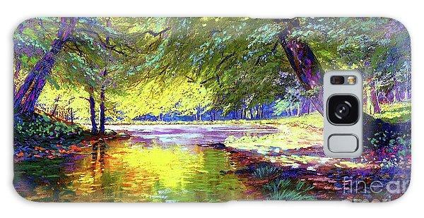 Foliage Galaxy Case - Healing Light by Jane Small