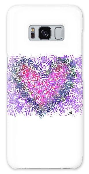 Heart 1007 Galaxy Case