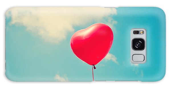 Form Galaxy Case - Heart Balloon by Andrekart Photography