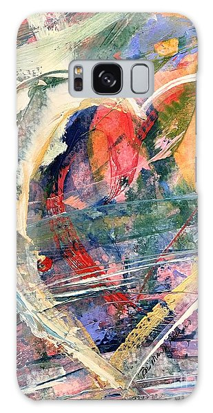 Galaxy Case featuring the painting Heart Full Of Love by Robin Maria Pedrero