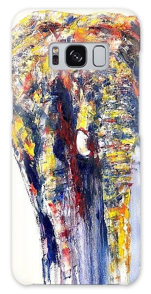 Contemporary Painting Heartbreak Galaxy Case