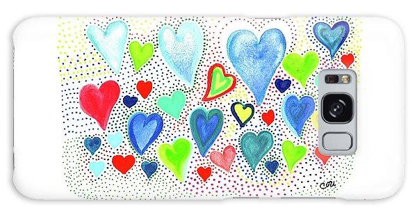 Hearts 1002 Galaxy Case