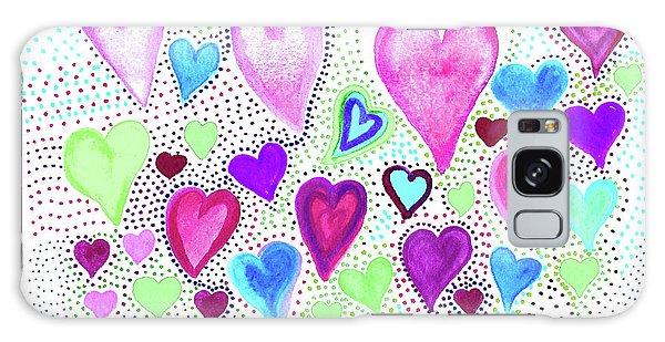 Hearts 1004 Galaxy Case