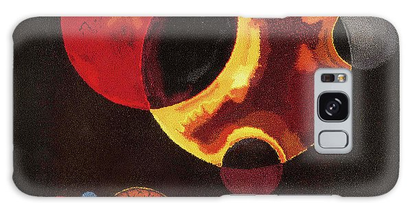 Russian Impressionism Galaxy Case - Heavy Circles by Wassily Kandinsky