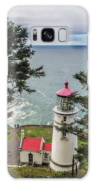 Heceta Head Lighthouse Galaxy Case