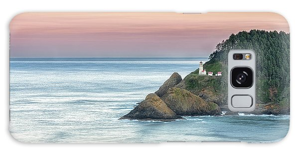 Heceta Lighthouse Galaxy Case