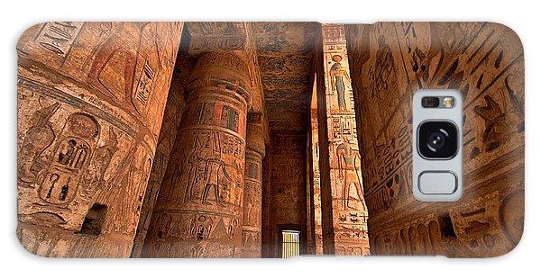 Mythology Galaxy Case - Heiroglyphs At Medinat Habu. Luxor by Eastvillage Images