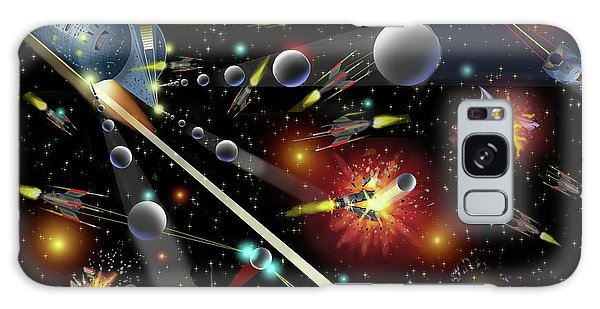 Hell In Space Galaxy Case