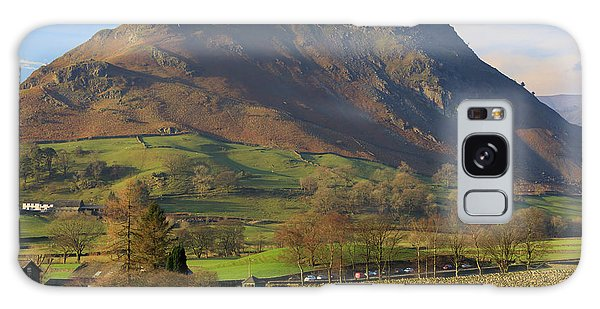 Grasmere Galaxy Case - Helm Crag Near Grasmere In The Lake District National Park by Louise Heusinkveld