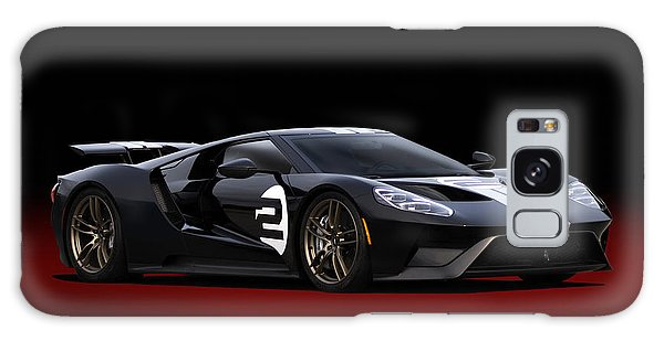 66 Galaxy Case - Heritage Ford Gt by Peter Chilelli