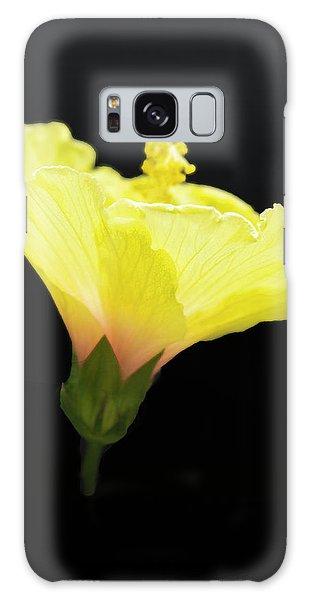 Hibiscus In Black Galaxy Case
