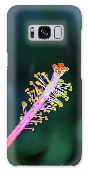 Hibiscus' Pistil Galaxy Case