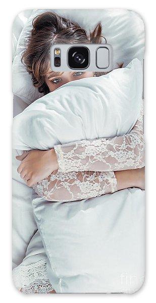 Hiding Galaxy Case - Hiding In The Pillow by Amanda Elwell