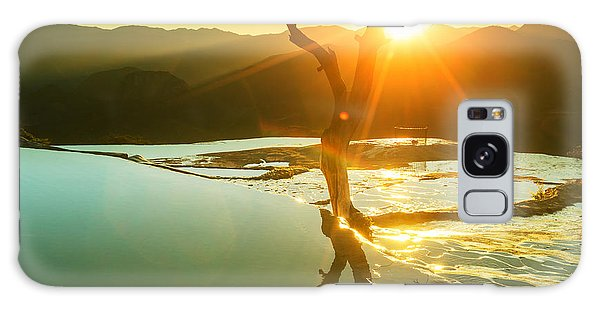 Travel Destinations Galaxy Case - Hierve El Agua, Natural Rock Formations by Galyna Andrushko