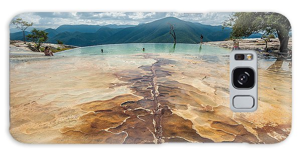 Geology Galaxy Case - Hierve El Agua, Natural Rock Formations by Javarman