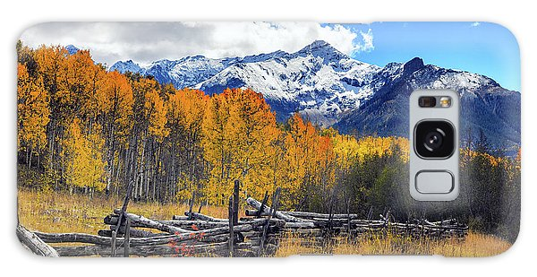 Galaxy Case featuring the photograph High County Ablaze by Rick Furmanek