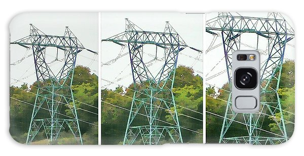 Pylon Galaxy Case - High-voltage Power Transmission Towers 1 by Jeelan Clark