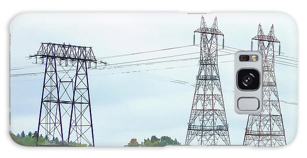 Pylon Galaxy Case - High-voltage Power Transmission Towers  2 by Jeelan Clark