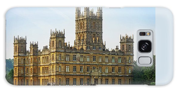Highclere Castle Galaxy Case