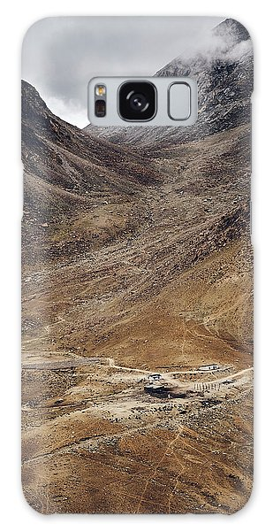 Galaxy Case featuring the photograph Himalayan Outpost by Whitney Goodey