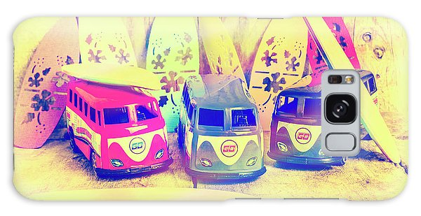 Old Car Galaxy Case - Hippie Holidays by Jorgo Photography - Wall Art Gallery