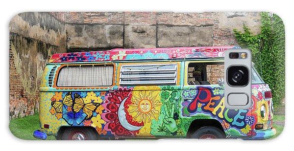 Hippie Dippie Vw Micro Bus Galaxy Case