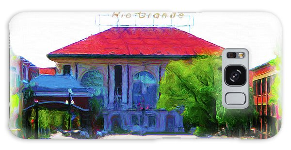 Historic Rio Grande Station Galaxy Case